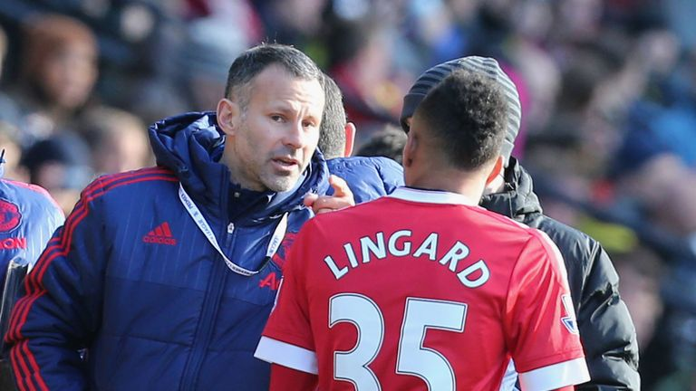 Ryan Giggs was one of Lingard's idols growing up