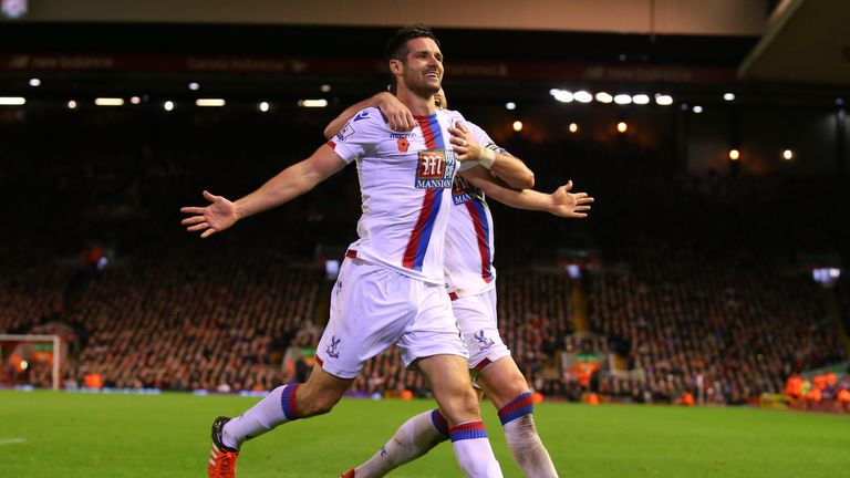 Scott Dann scored the winner at Anfield during their last league meeting