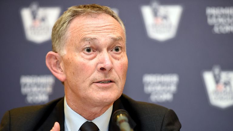 Premier League chief Richard Scudamore could become secretary general at FIFA