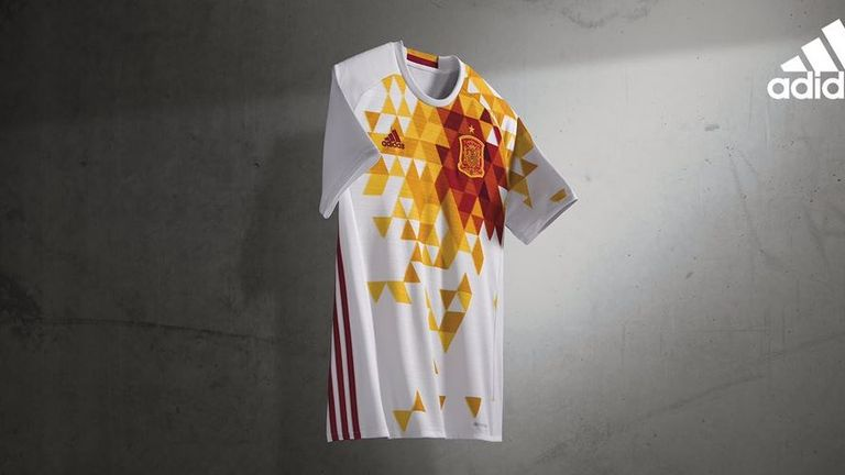 Spain's away kit has been met with a mixed reaction
