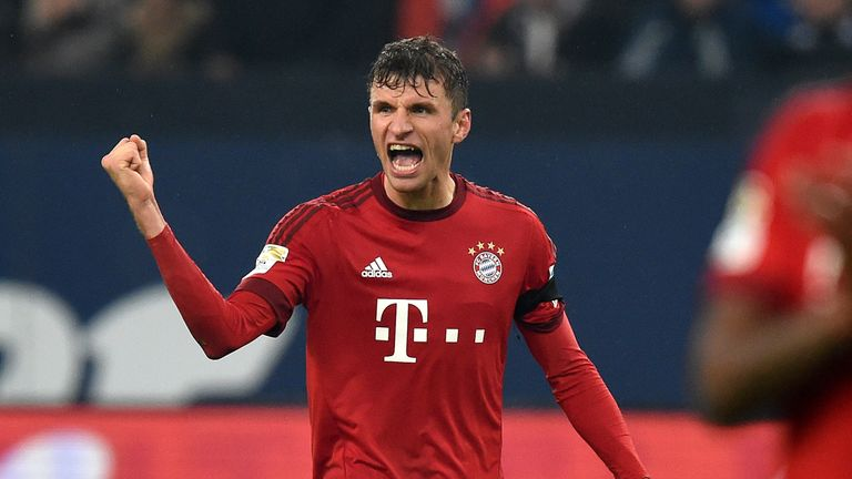 Thomas Muller has been in scintillating form for Bayern Munich this season