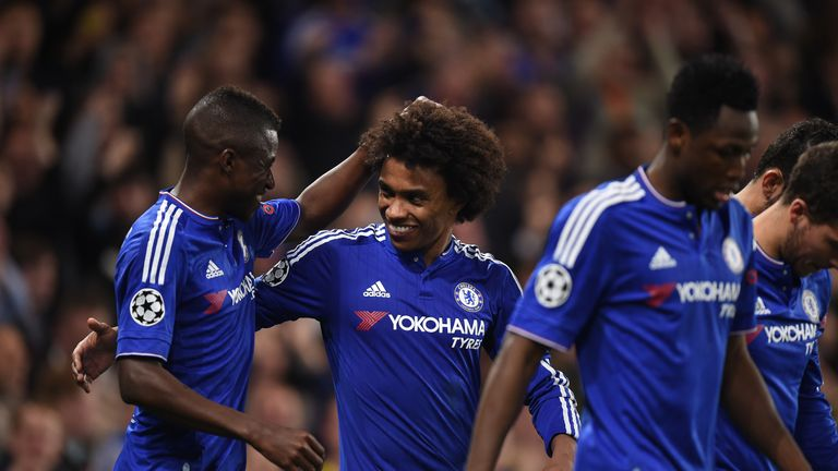 Chelsea's star man Willian to inspire Blues at Stoke.