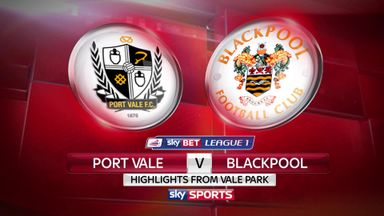 Port Vale 2-0 Blackpool