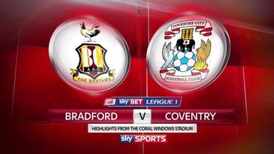 Bradford 0-0 Coventry