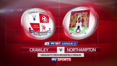 Crawley 1-2 Northampton