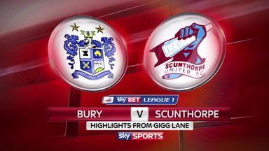 Bury 1-2 Scunthorpe