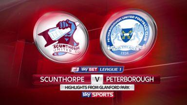 Scunthorpe 0-4 Peterborough