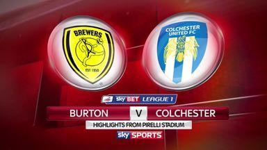 Burton 5-1 Colchester