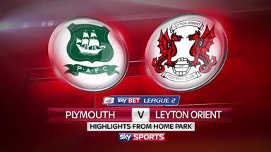 Plymouth 1-1 Leyton Orient