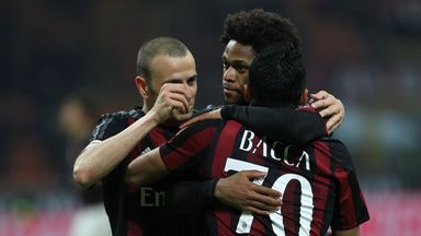 AC Milan move up for fifth in Serie A with Sampdoria victory