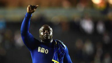 Adebayo Akinfenwa salutes AFC Wimbledon fans