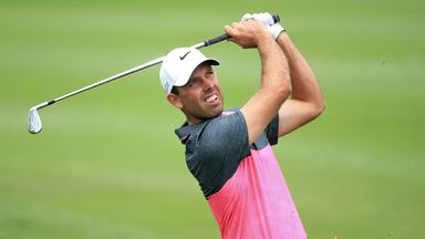 Charl Schwartzel will take a three-shot lead into the final round