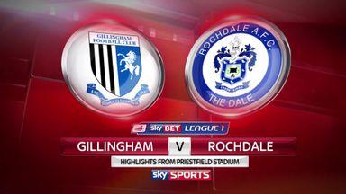 Gillingham 2-0 Rochdale