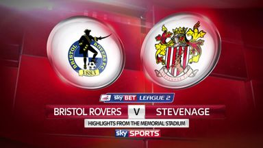 Bristol Rovers 1-2 Stevenage