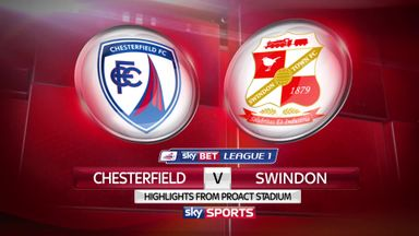 Chesterfield 0-4 Swindon