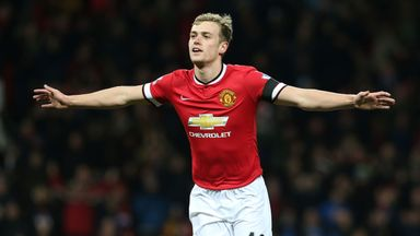 James Wilson has made just two appearances for Manchester United this season
