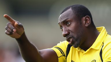 Jimmy Floyd Hasselbaink will be allowed to speak to QPR