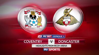 Coventry 2-2 Doncaster