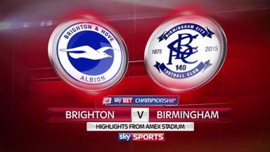 Brighton 2-1 Birmingham