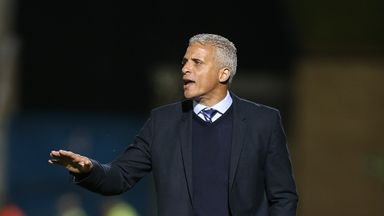 Carlisle manager Keith Curle: Watched his side win on Saturday