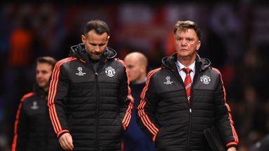 Louis van Gaal (right) has plenty to ponder after Man Utd's goalless draw