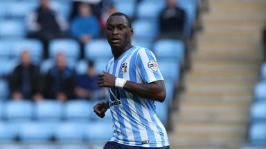 Marc-Antoine Fortune scored for Coventry