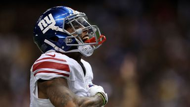 Odell Beckham Jr can increase his touchdown tally against the Washington Redskins