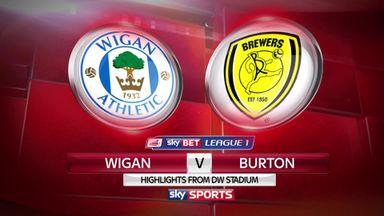 Wigan 0-1 Burton