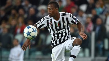 Patrice Evra faces a late fitness test for Juventus