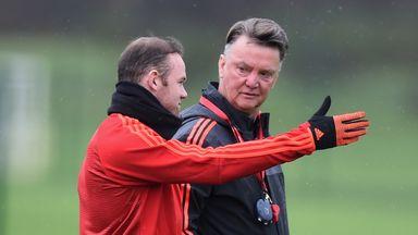 Louis van Gaal says he is 'very satisfied' with Wayne Rooney