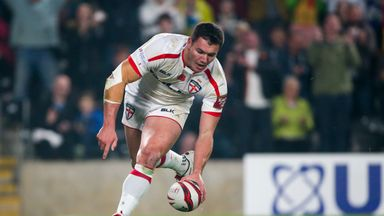 Brett Ferres scored two tries during England's opening win over New Zealand