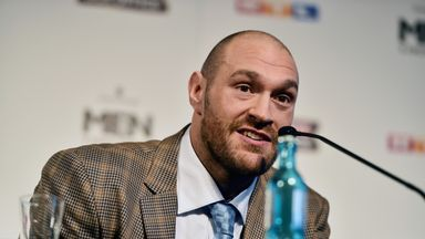 Tyson Fury expects an easy win - although Wladimir Klitschko does smell nice...