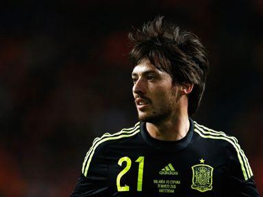 David Silva: Hopes for Euro 2016 glory with Spain