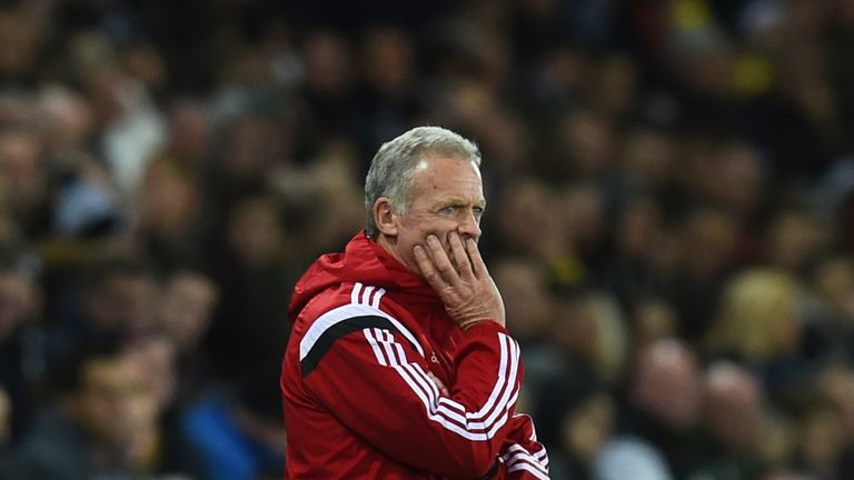 Alan Curtis is looking for a response to Swansea's FA Cup exit