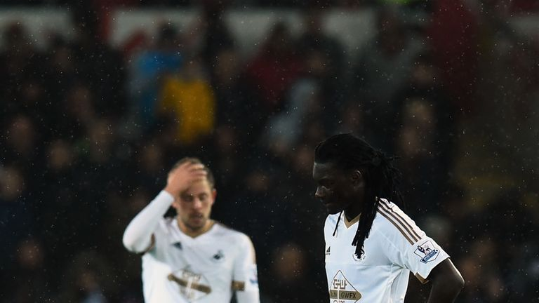 Swansea are winless since Garry Monk was dismissed