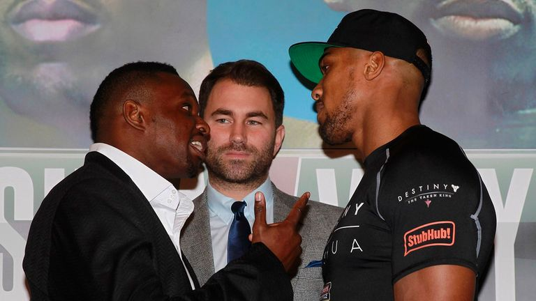 There's only one who will wind-up Joshua, believes Froch