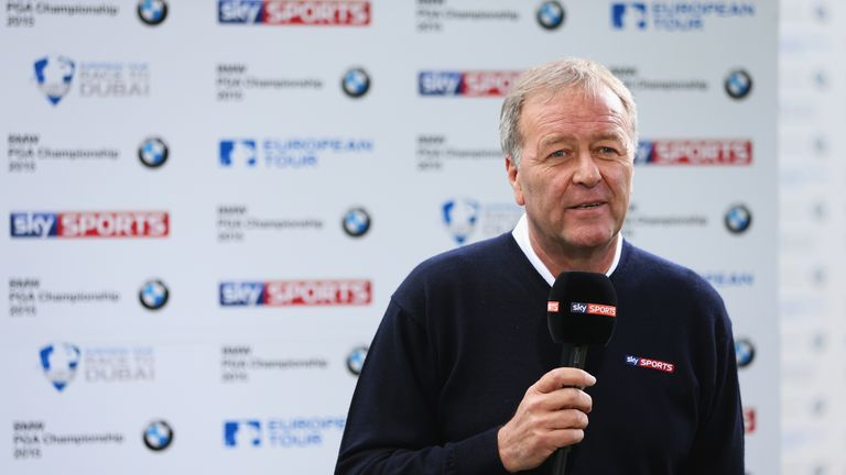 Ewen Murray has been an integral part of Sky's golf team since 1991