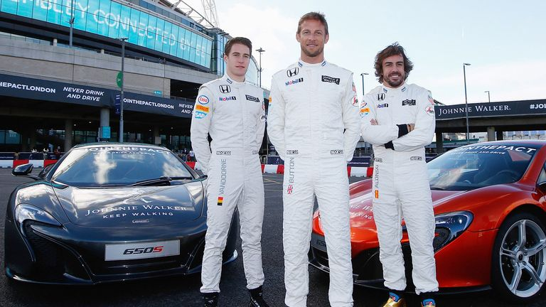 Alonso was speaking at a media event for Johnnie Walker in London campaigning against drink-driving