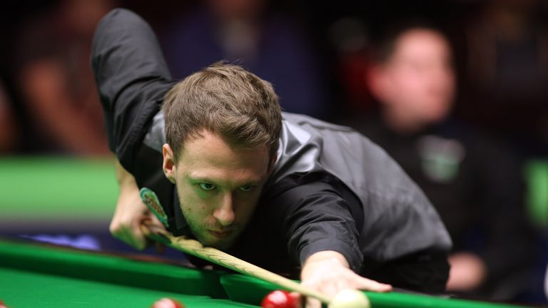 Judd Trump was sent crashing out by Liang Wenbo