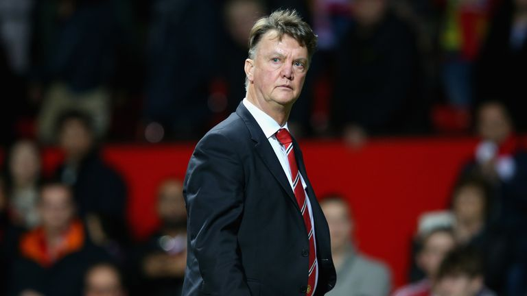 Van Gaal has now seen Manchester United go six games without a win