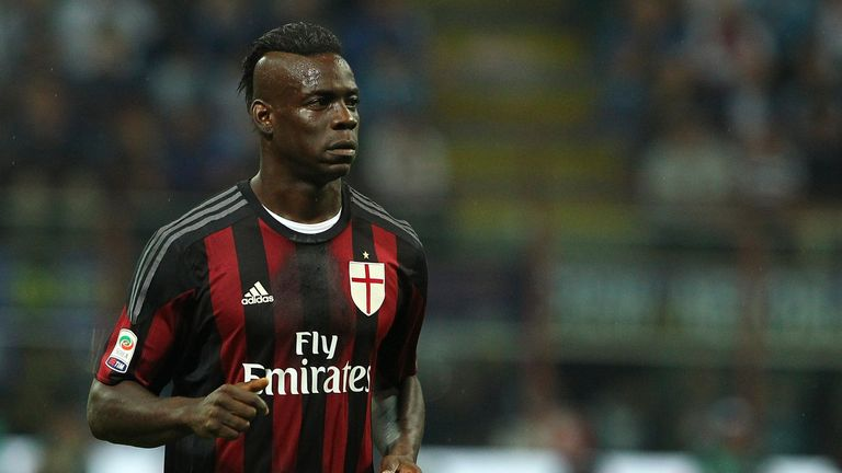 Mario Balotelli joined AC Milan on loan from Liverpool