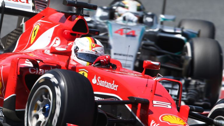 Ferrari and Mercedes dominated F1 in 2015