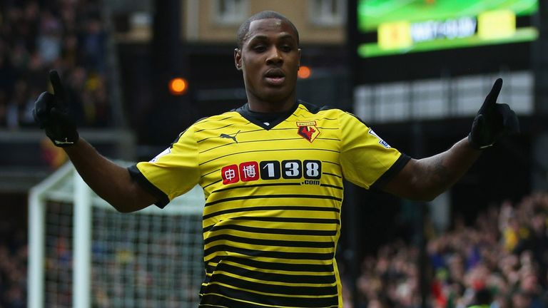 Odion Ighalo a top performer for Watford