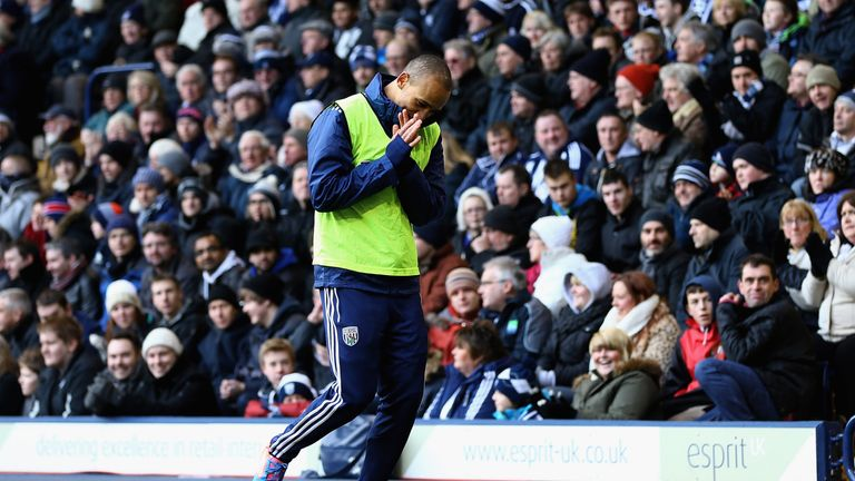 Odemwingie was used sparingly as a substitute after the move to QPR fell through