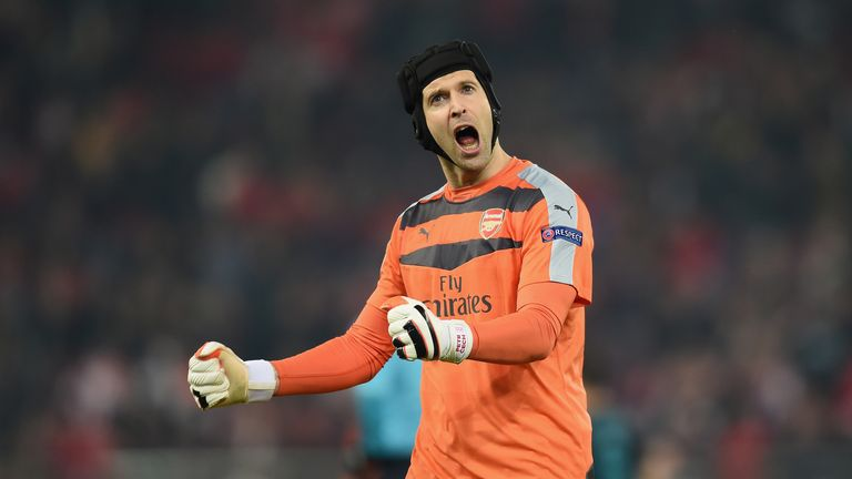 Petr Cech has shone for Arsenal since his move from Chelsea