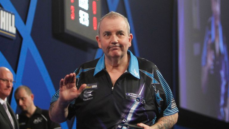 Phil Taylor beat Van Gerwen in the final of the UK Open qualifier three at the weekend
