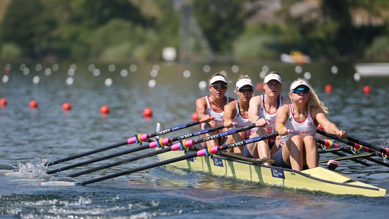 Britain's women's quadruple scull team missed out on initial qualification for Rio