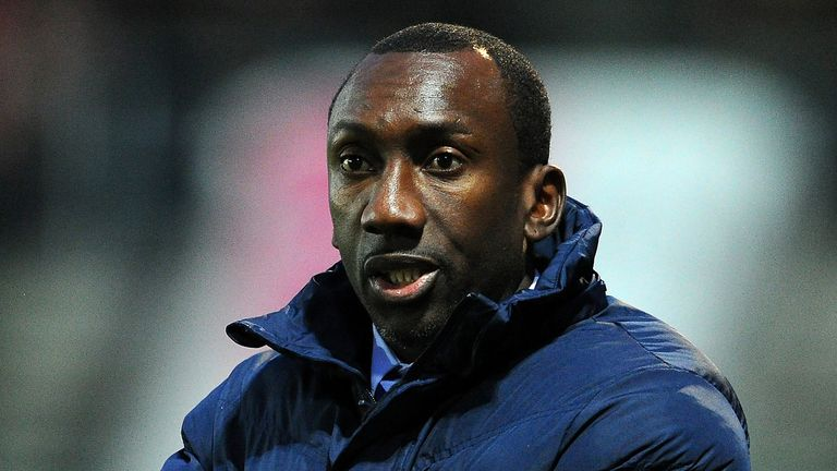 Jimmy-Floyd Hasselbaink, manager of Queens Park Rangers