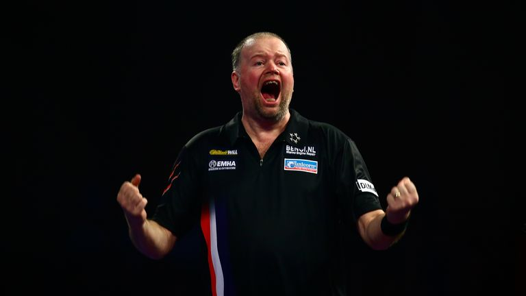 Raymond van Barneveld will be hoping to build on his win over Phil Taylor