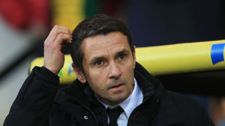 Garde is still looking for his first win as Aston Villa manager